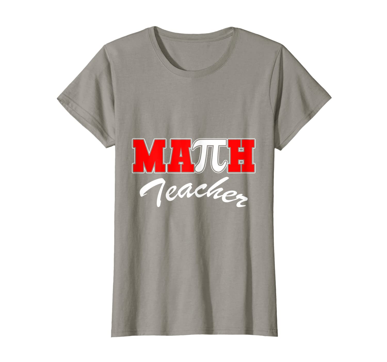 Math Teacher Pi Algebraic Sign Symbol Cool Gift Pi Day Shirt-Awarplus
