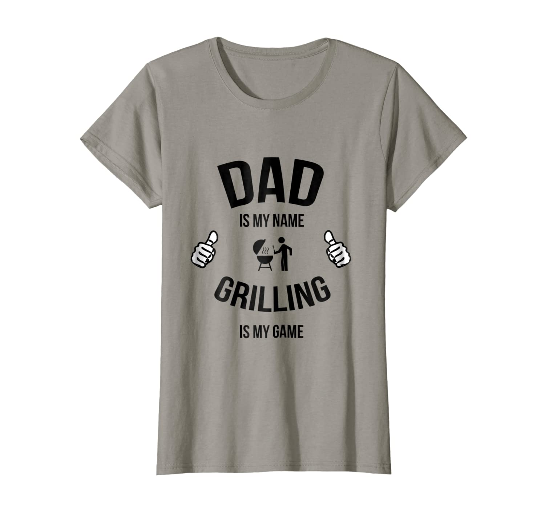 Amazon.com: Funny Dad Asar a la parrilla Camisa, Camisa ...
