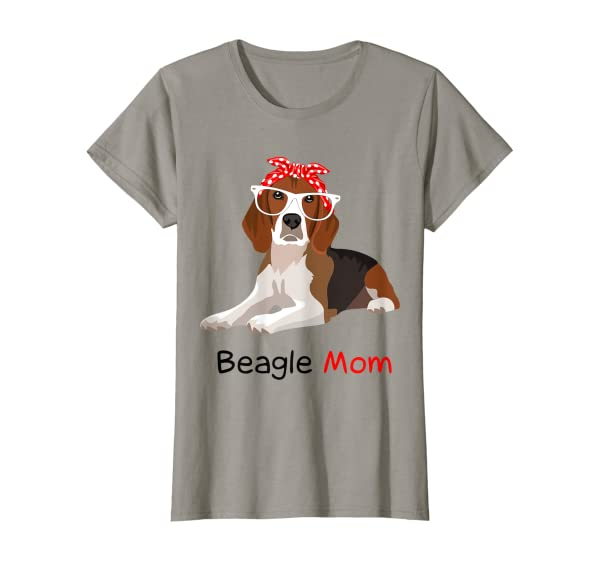 Beagle Mom Dog Bandana Pet Lover Gift Beagle T-shirt