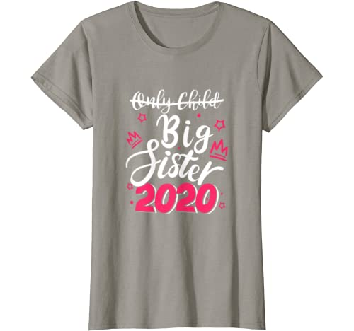 Only Child Expires Big Sister 2020 Costume Baby Shower T Shirt