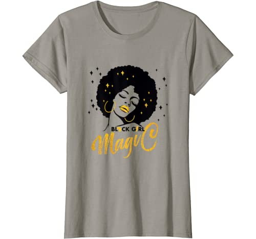 Black Girl And Afro Hair Pride Black History Month T Shirt