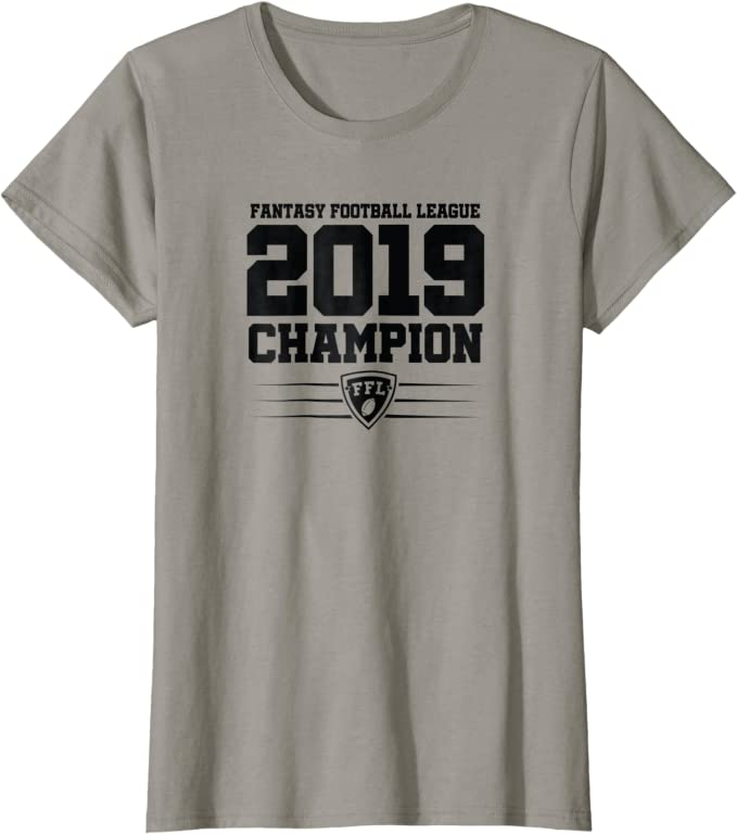 FANTASY FOOTBALL CHAMP IS HERE FFL TROPHY LEAGUE CHAMPION MENS TANK TOP