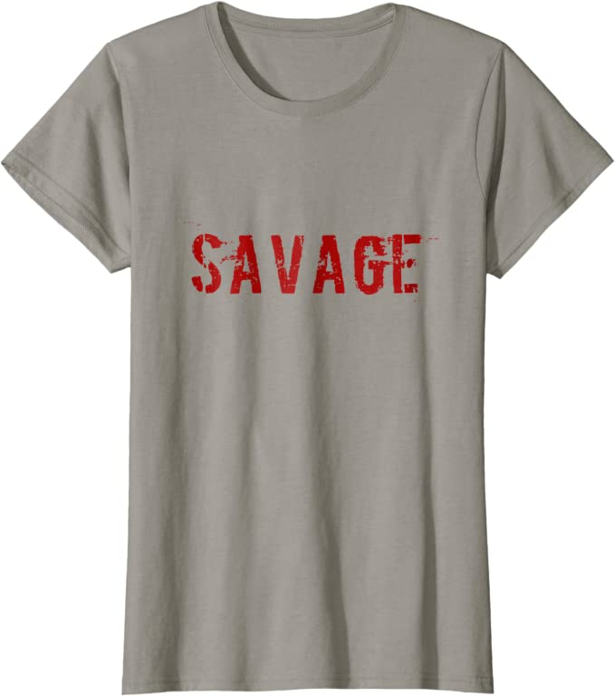 Amazon Com Savage T Shirt Clothing