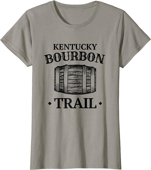 Kentucky Bourbon T-Shirt Distressed KY Home of Bourbon Shirt