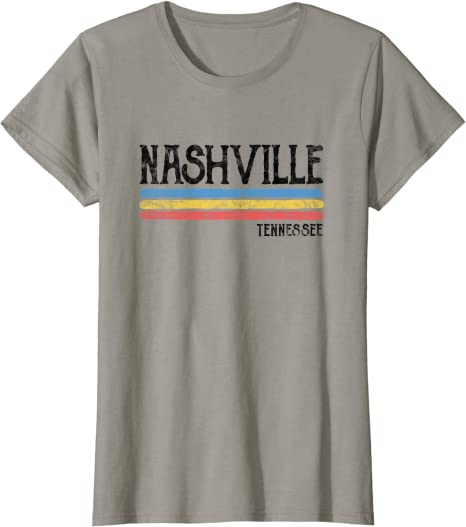 Travel Gift for Women and Men US State Tee North America Tennessee Is Calling And I Must Go Traveler Shirt Tennessee Lover Retro T-Shirt