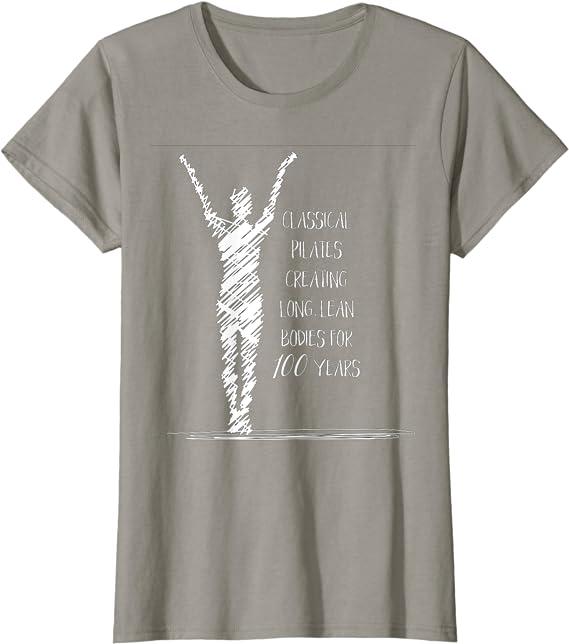 Pilates T-Shirt : Pilates With Skull Unisex Pilates T-Shirt
