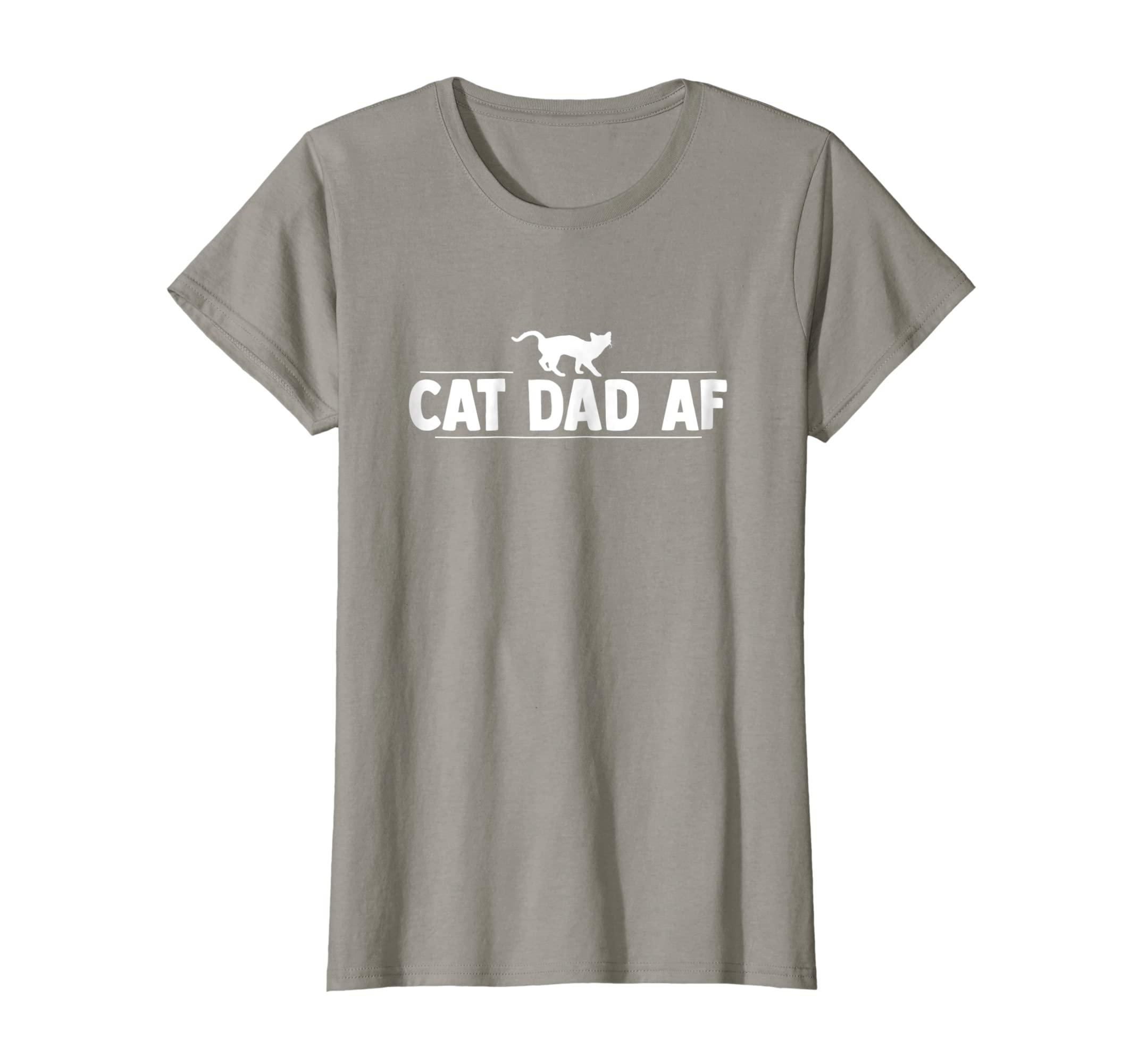 687d9bc1 Amazon.com: Cat Dad AF TShirt for father day gift Dads of Cats shirt:  Clothing