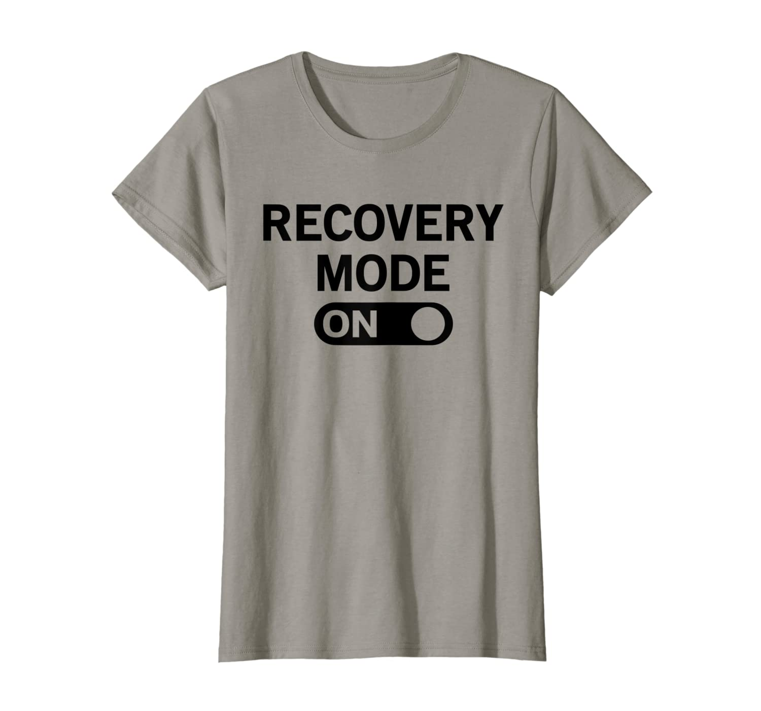 Amazon com: Recovery Mode On Get Well Tshirt: Clothing