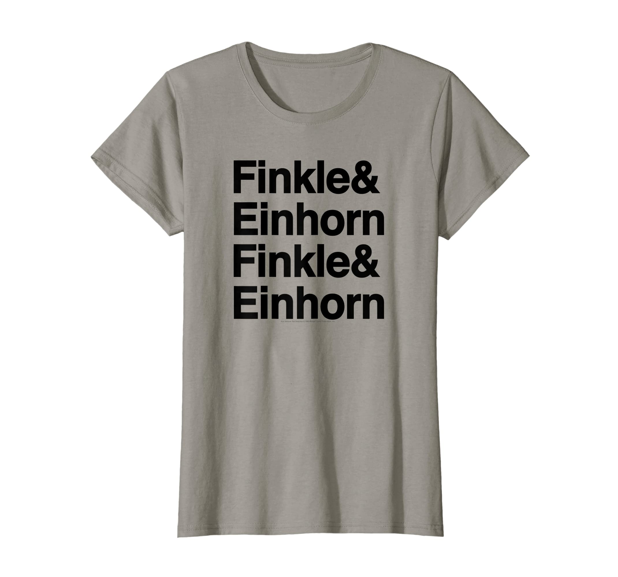 32bd42c281c793 Amazon.com: Ace Ventura Finkle is Einhorn T-Shirt: Clothing