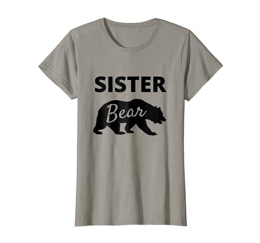 006532dce1 Amazon.com  Papa Bear Mama Bear Baby Bear Shirt- Sister Bear Shirt ...