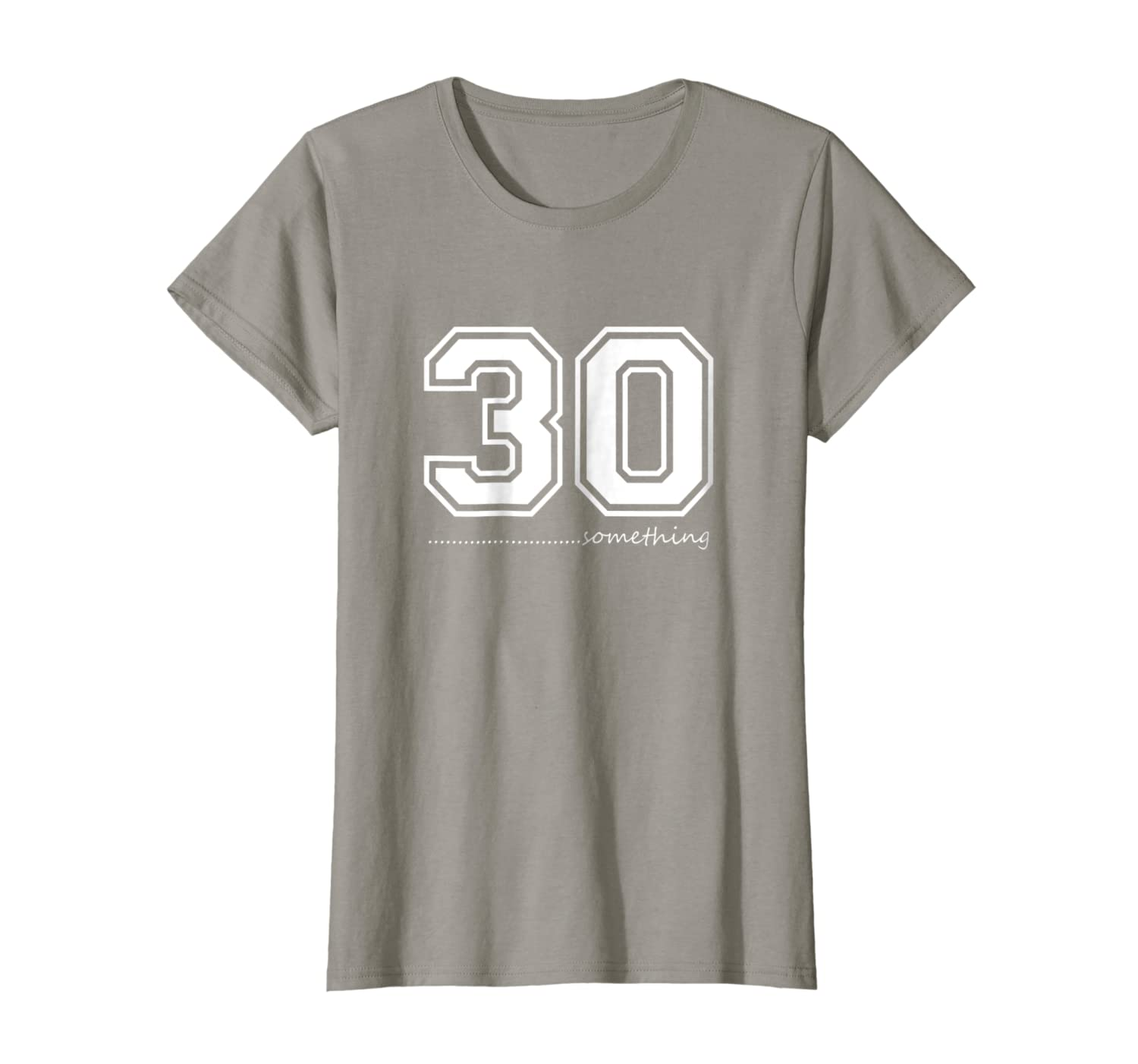 a158e809 Amazon.com: 30 Something T-shirt 30s years old Sport Jersey Style tshirt:  Clothing