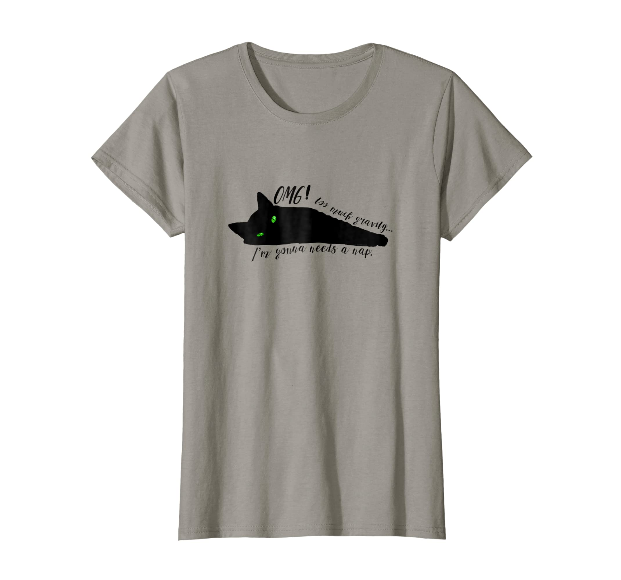 7f52d24a Amazon.com: OMG Spoiled Cat Needs A Nap - Funny Cat Novelty Gifts Shirts:  Clothing