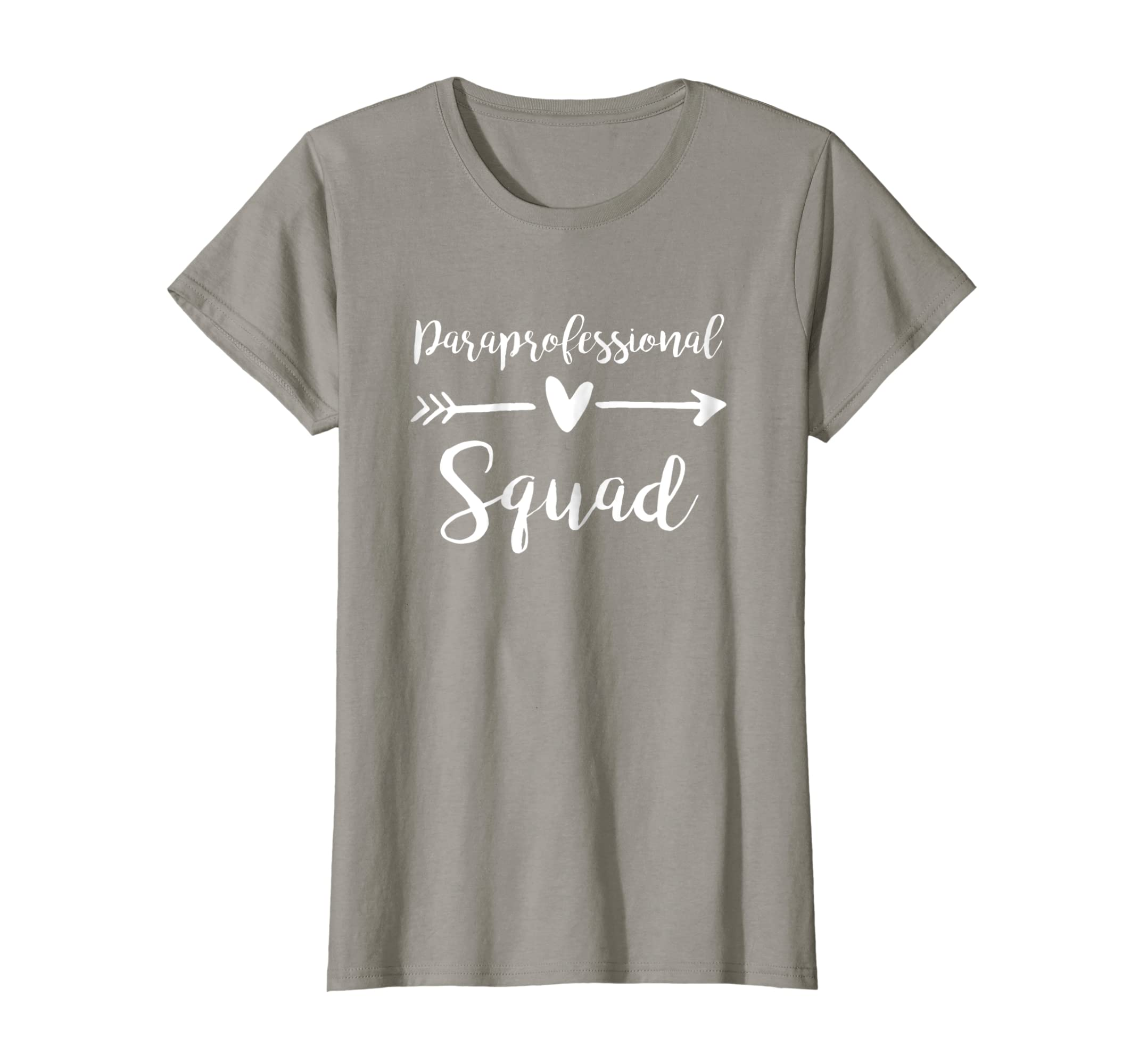 b4d2f453 Amazon.com: Paraprofessional Squad Shirt Cute Paraeducator Gift: Clothing