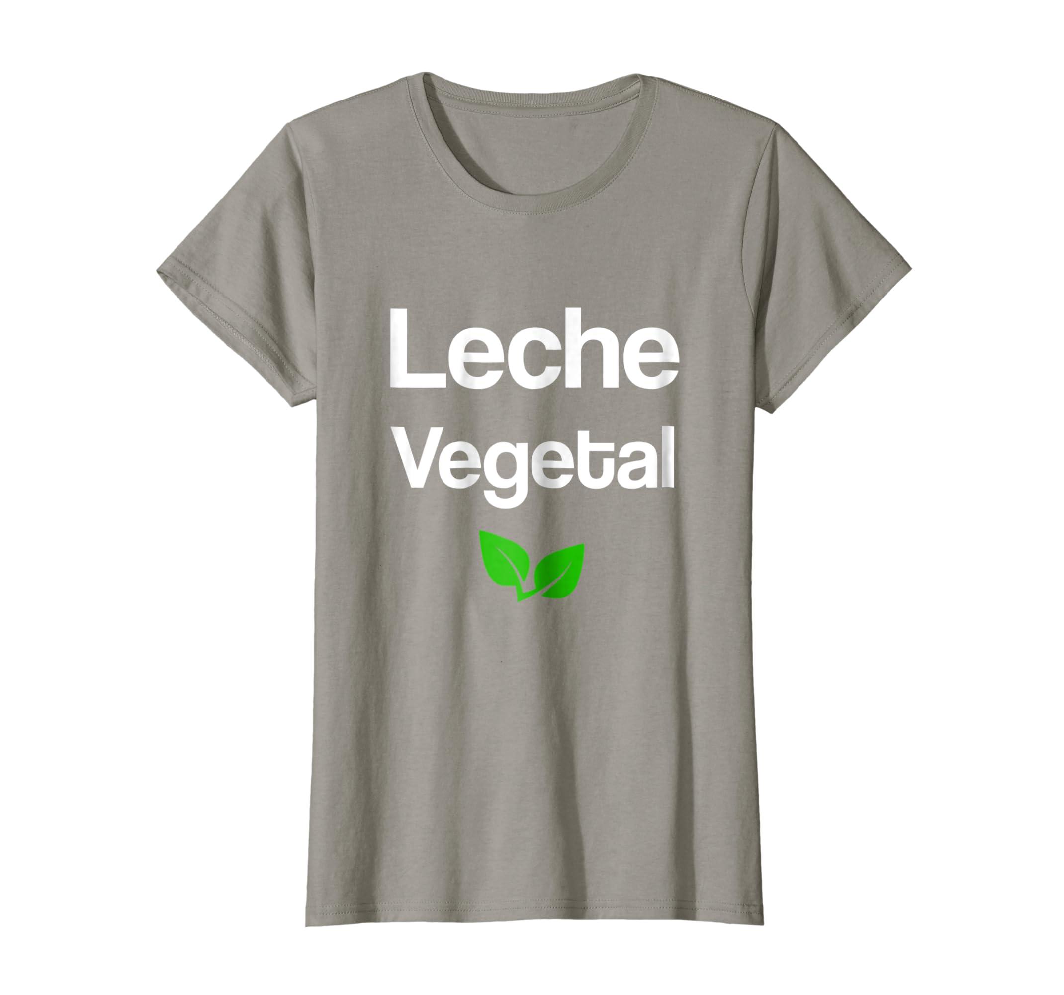 Amazon.com: Leche vegetal Shirt Camiseta con frases Veganos Vegetarianos: Clothing