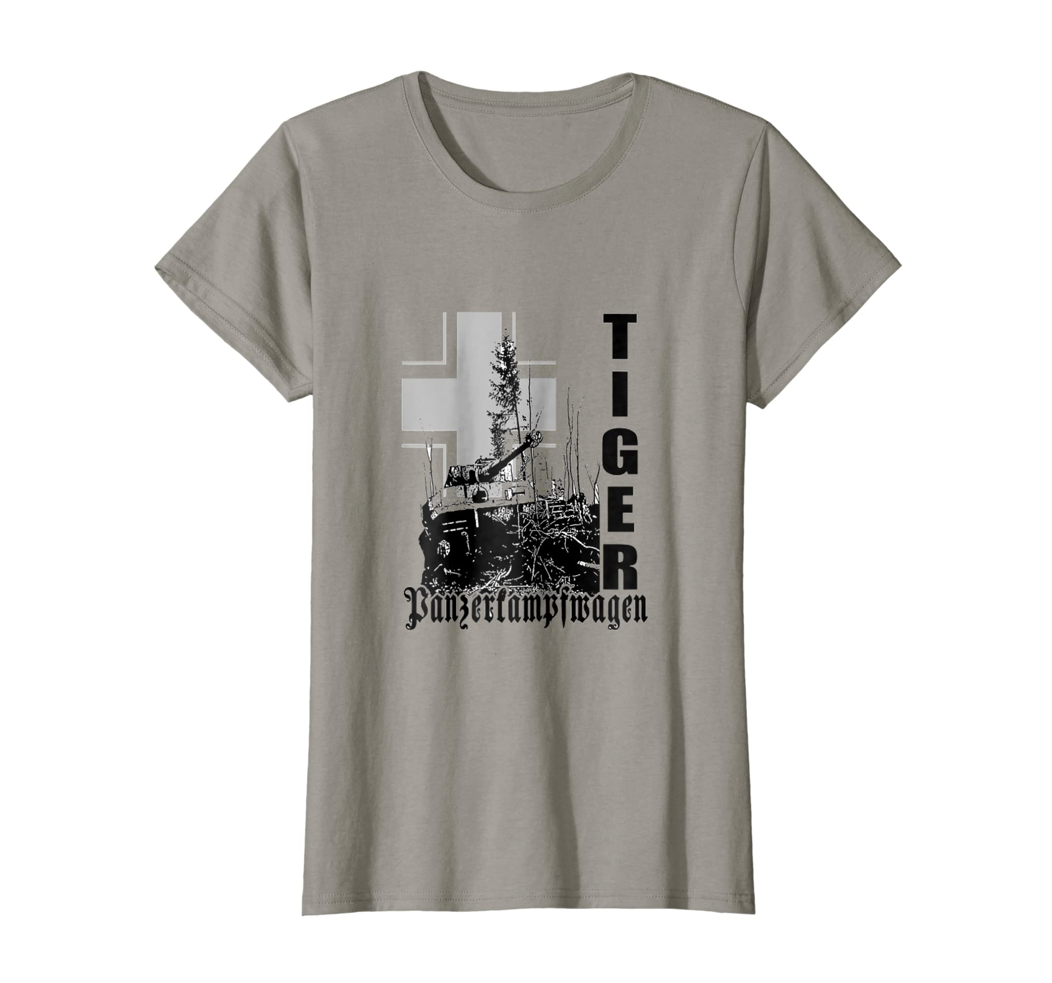 Amazon Com German Ww2 Tiger Tank T Shirt Panzer Shirts