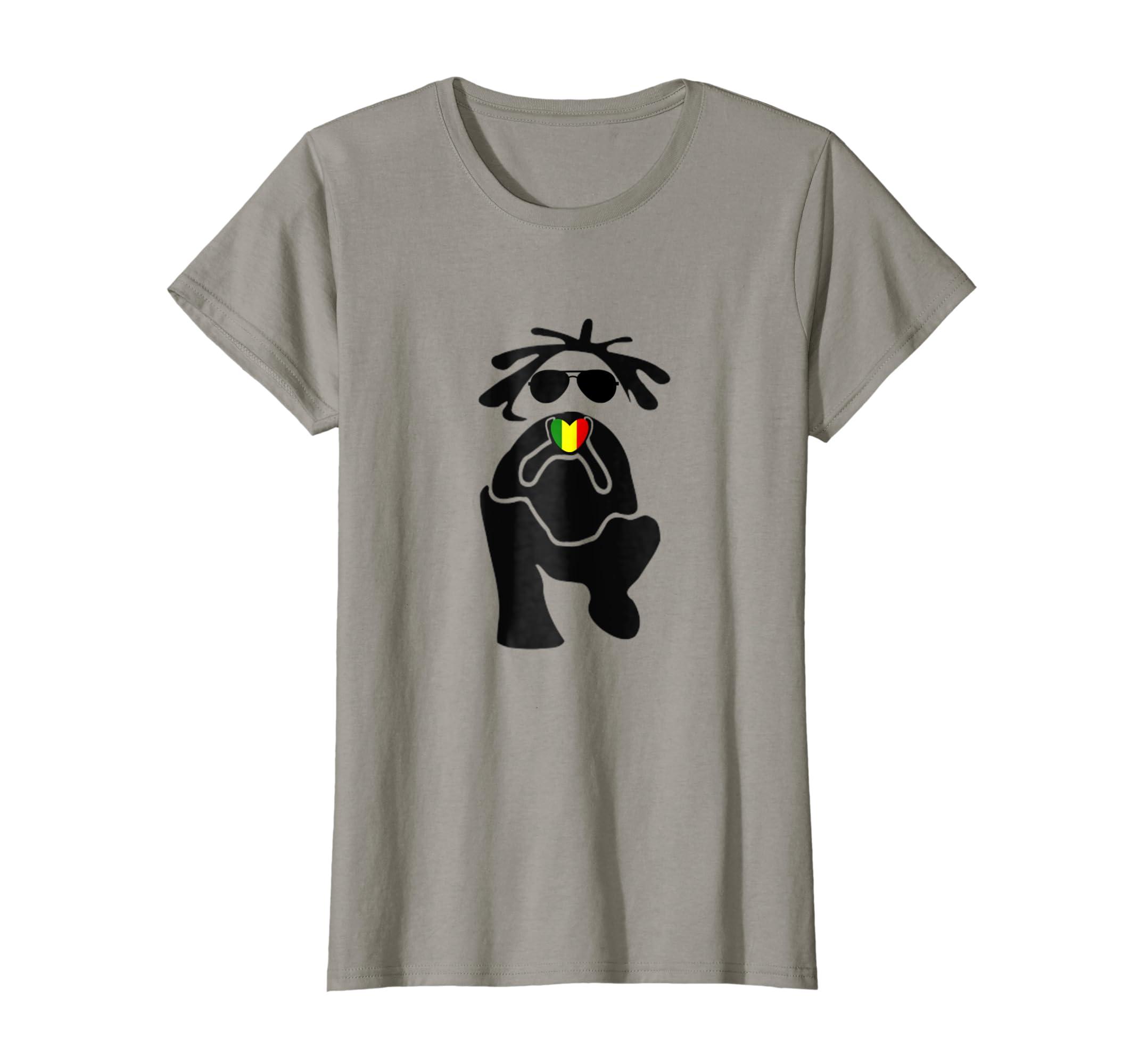 Amazon.com  Reggae Dreadlocks Shirt  Clothing 997dae962
