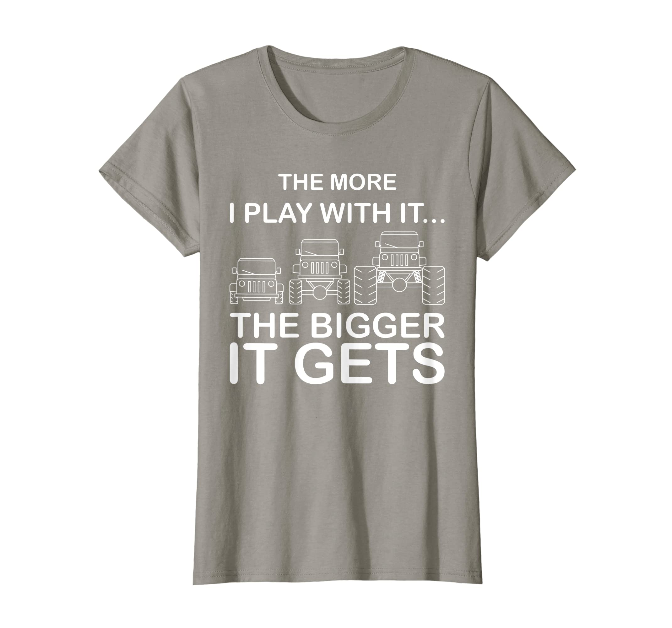 Cool The More I Play With It…The Bigger It Gets Men Shirt-Yolotee