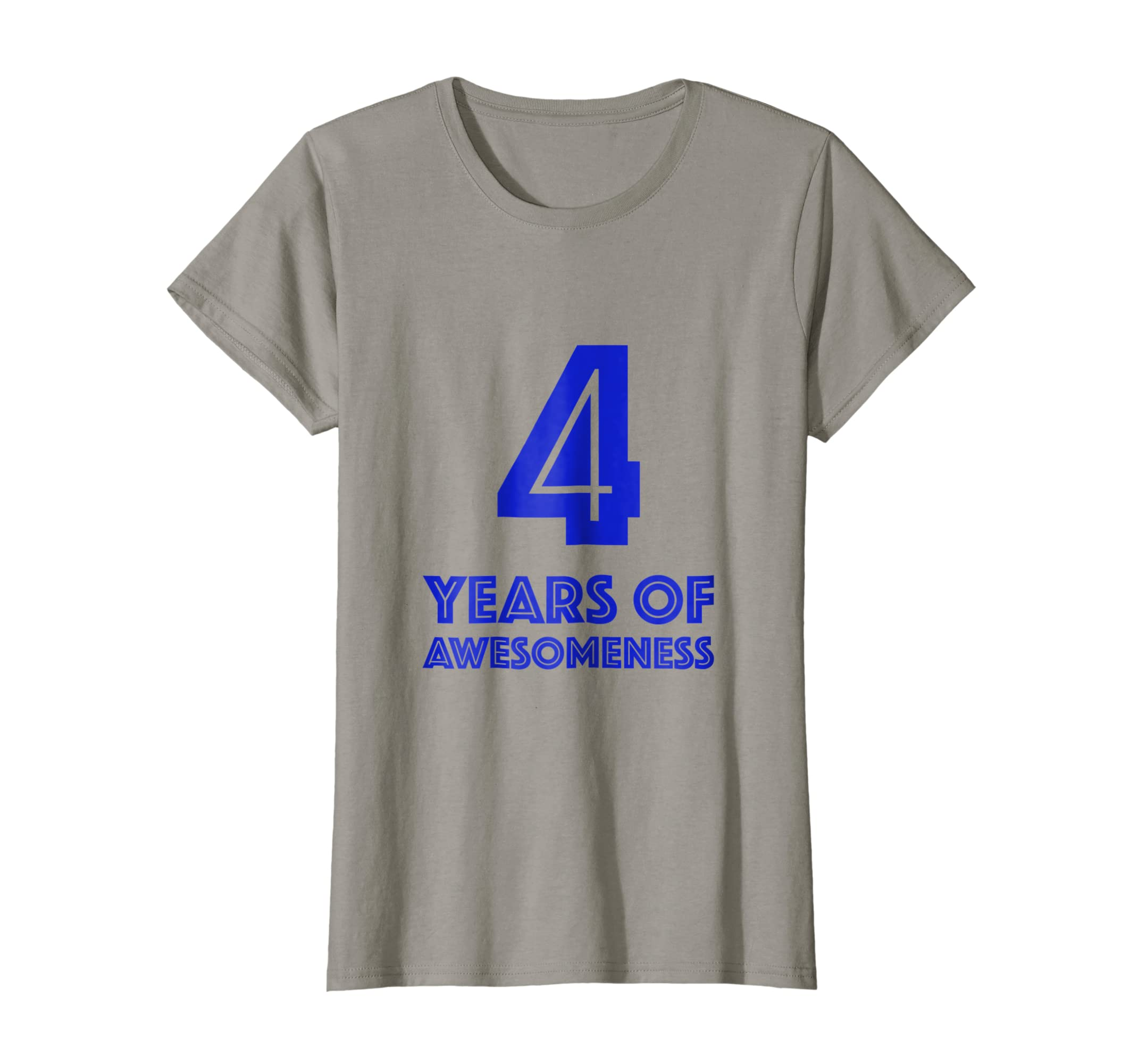 Amazon 4th Birthday Shirt Gift Boys Age 4 Four Year Old Boy Tshirt Clothing