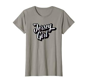 5cbd19aa4 Amazon.com: Jersey Girl - New Jersey T-Shirt: Clothing