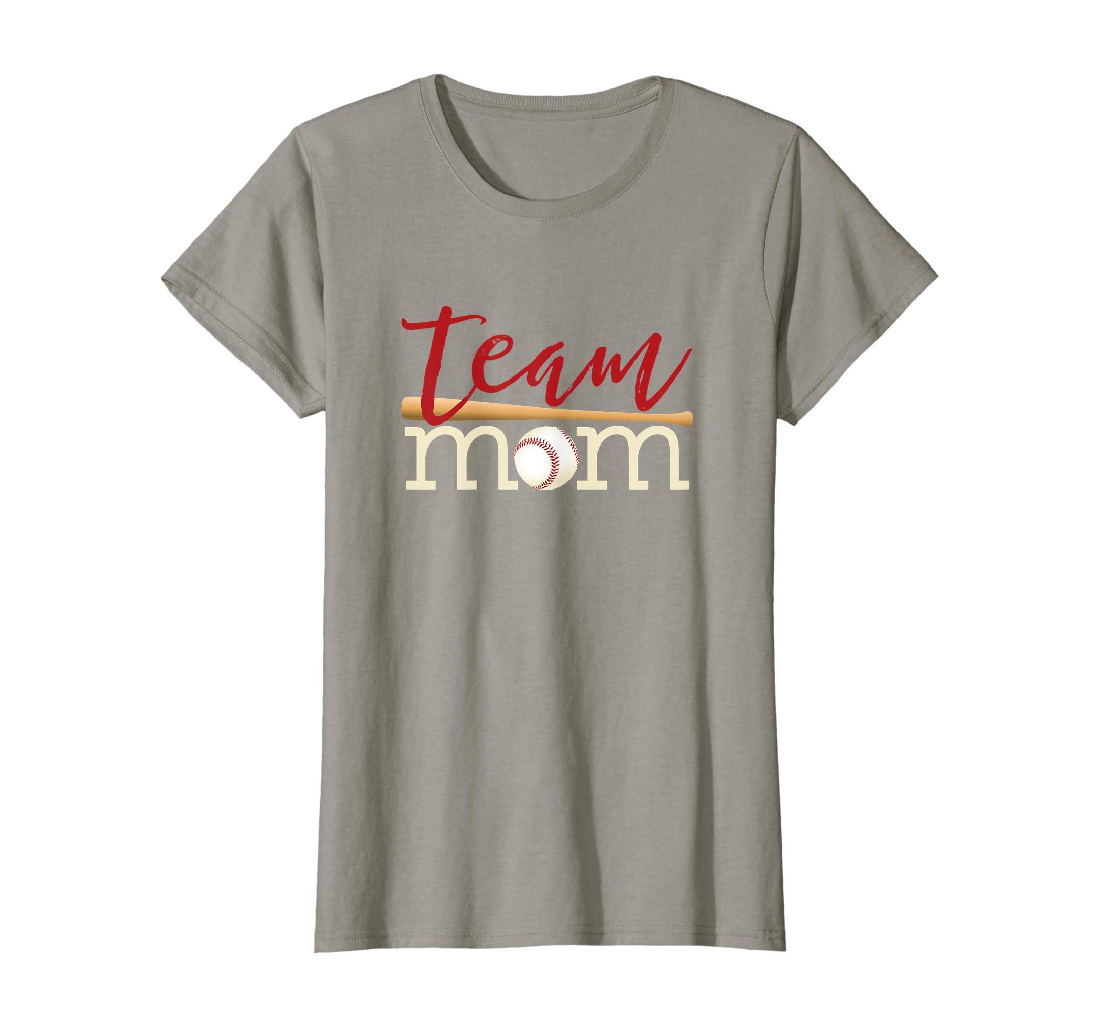 Team Mom Shirts Mother's day gift for Baseball or Softball-Teehay