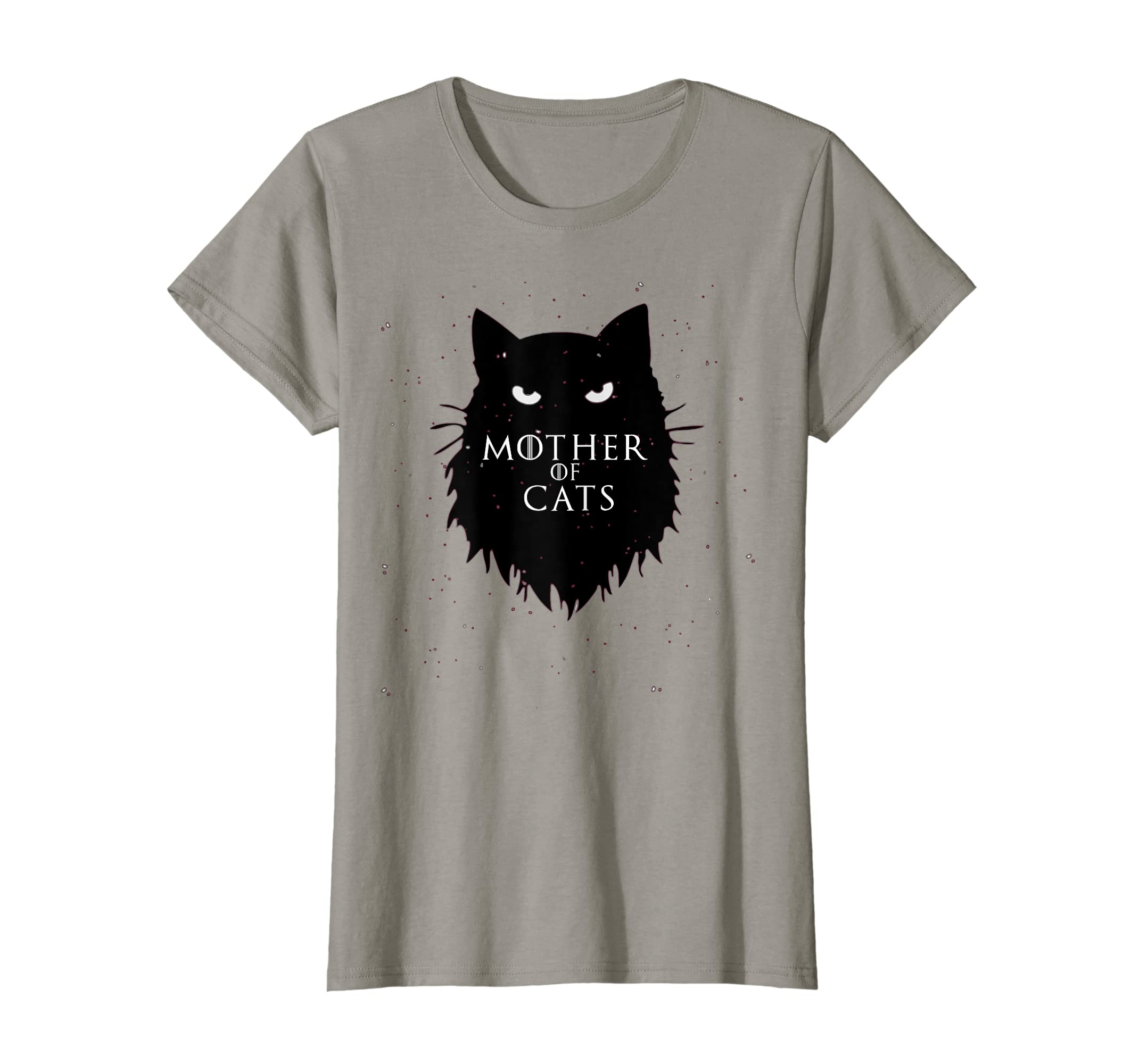 Mother Of Cats T-Shirt Funny King Or Queen Cosplay Gift-Yolotee