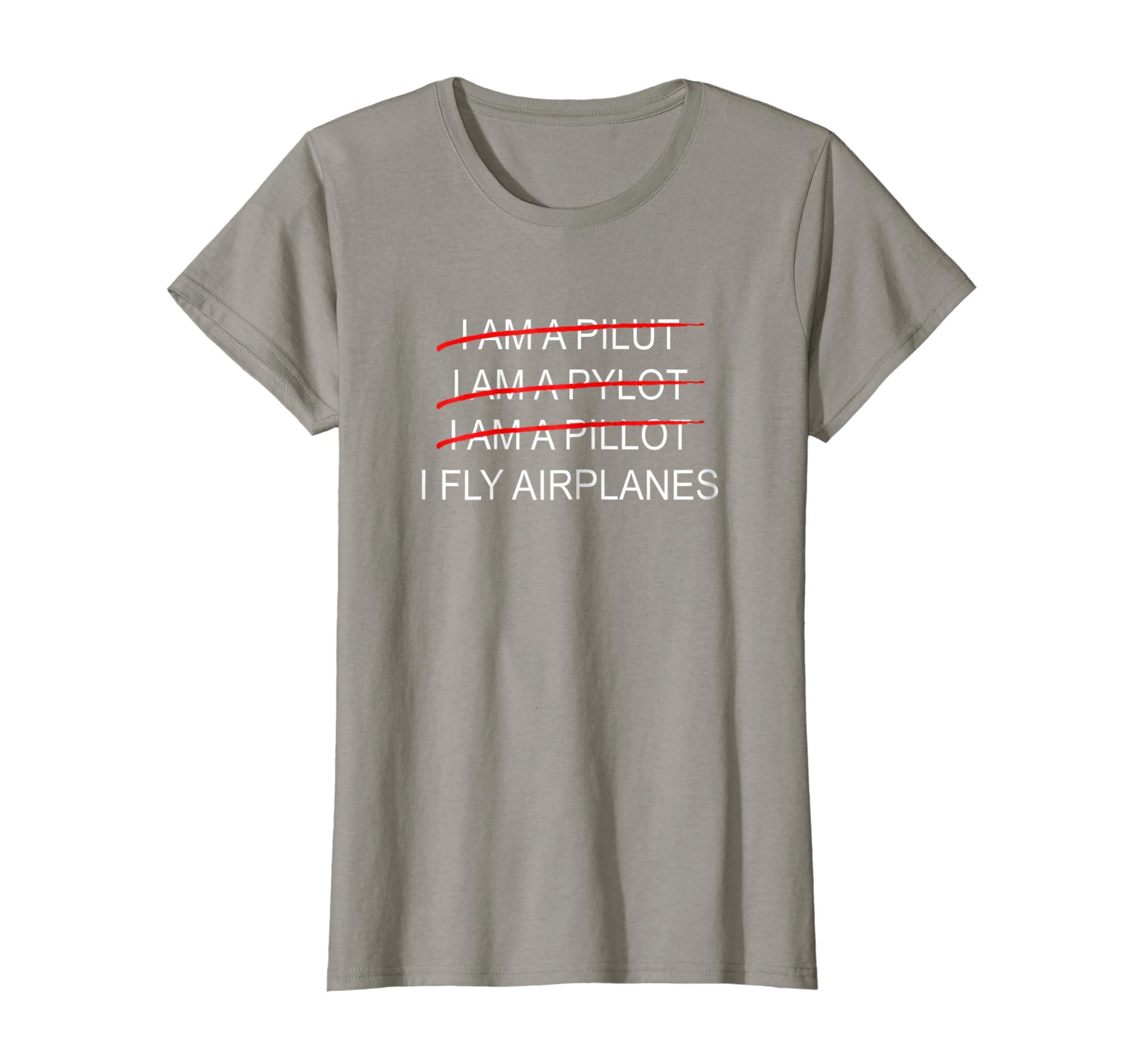340e467c Amazon.com: Funny Aviation T Shirt I Fly Airplanes: Clothing