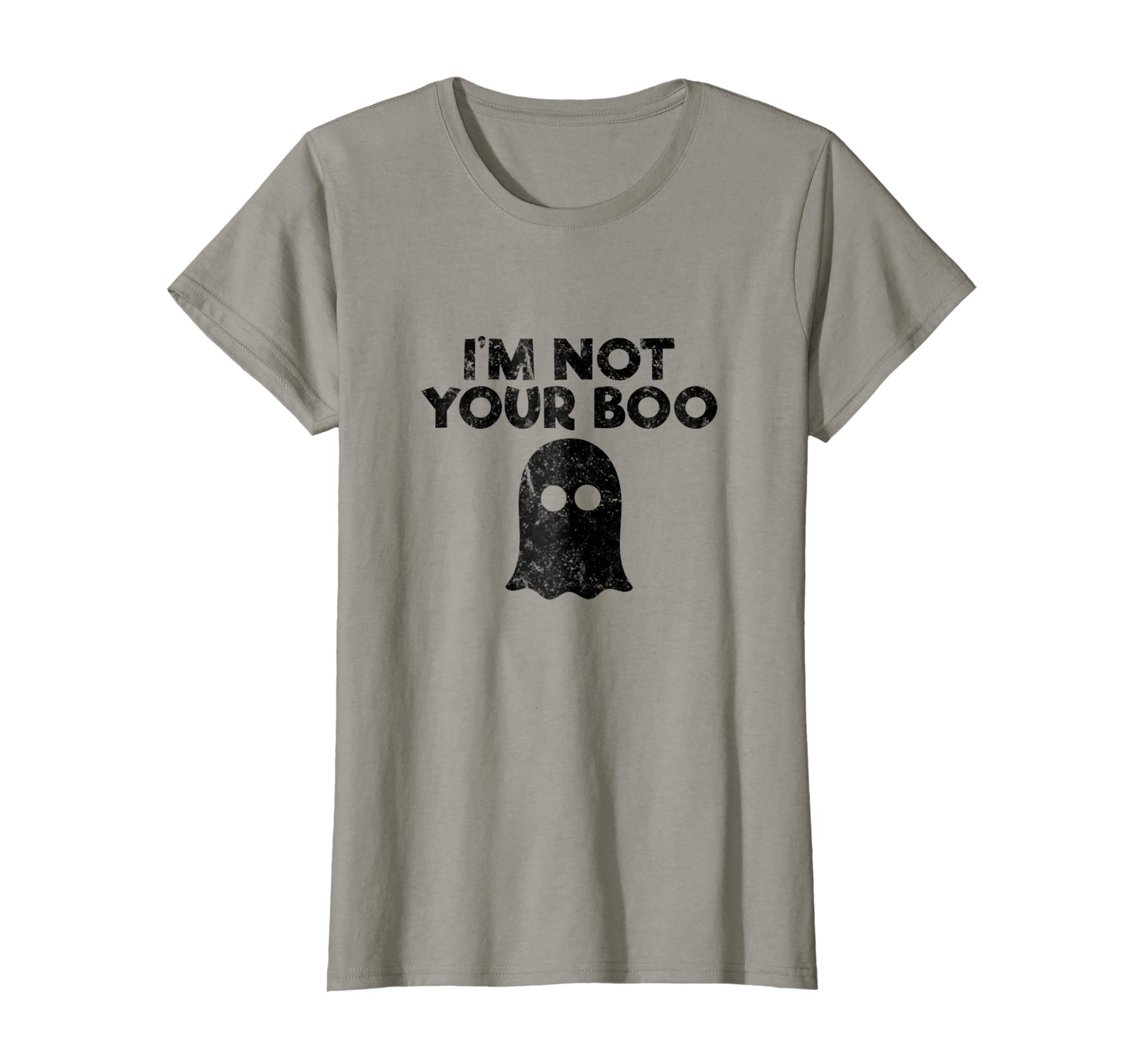 3cc7925f8 Amazon.com: I'm Not Your Boo Funny Halloween Tee Shirt: Clothing