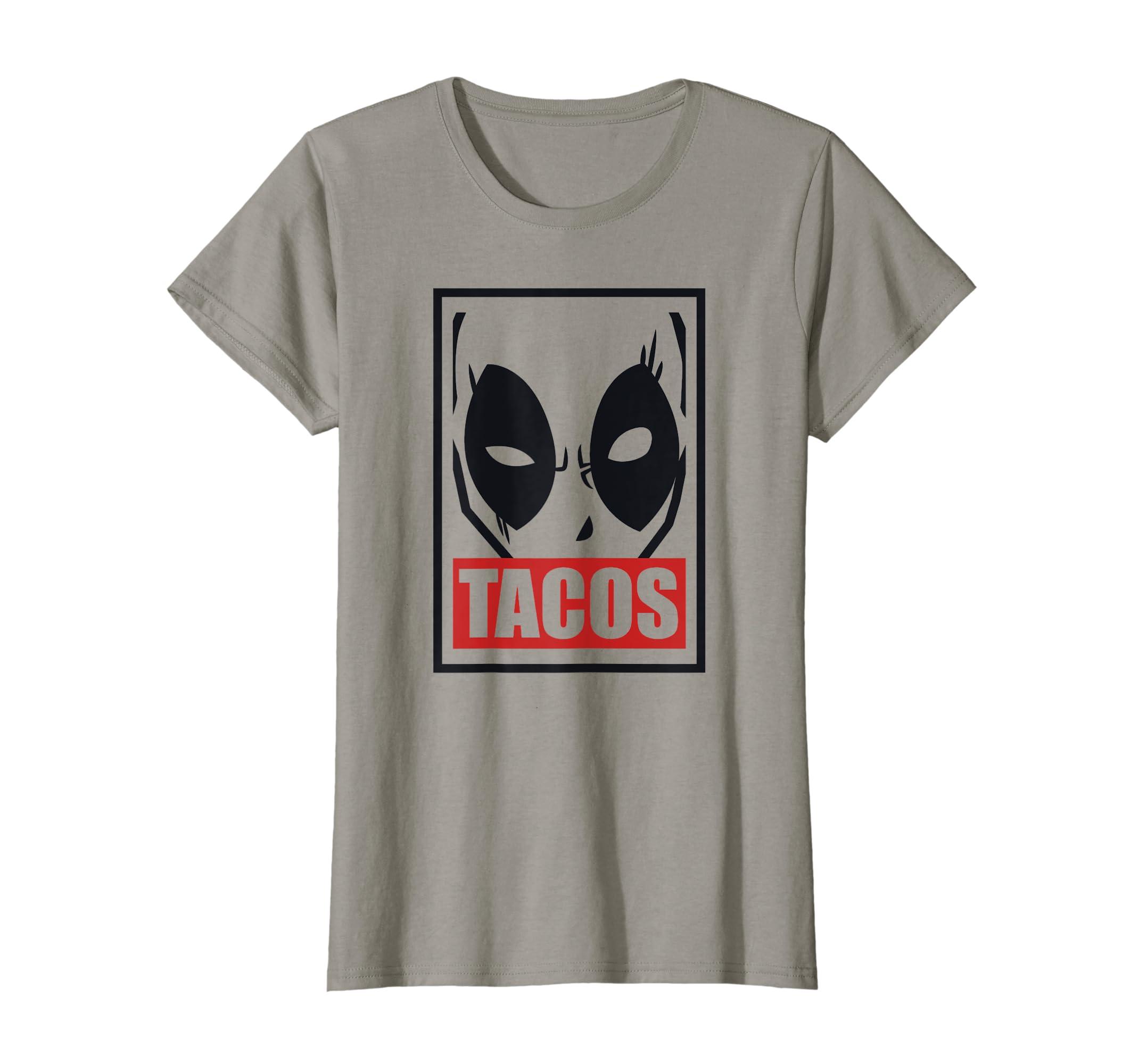 Amazon Com Deadpool Tacos Graphic T Shirt Clothing