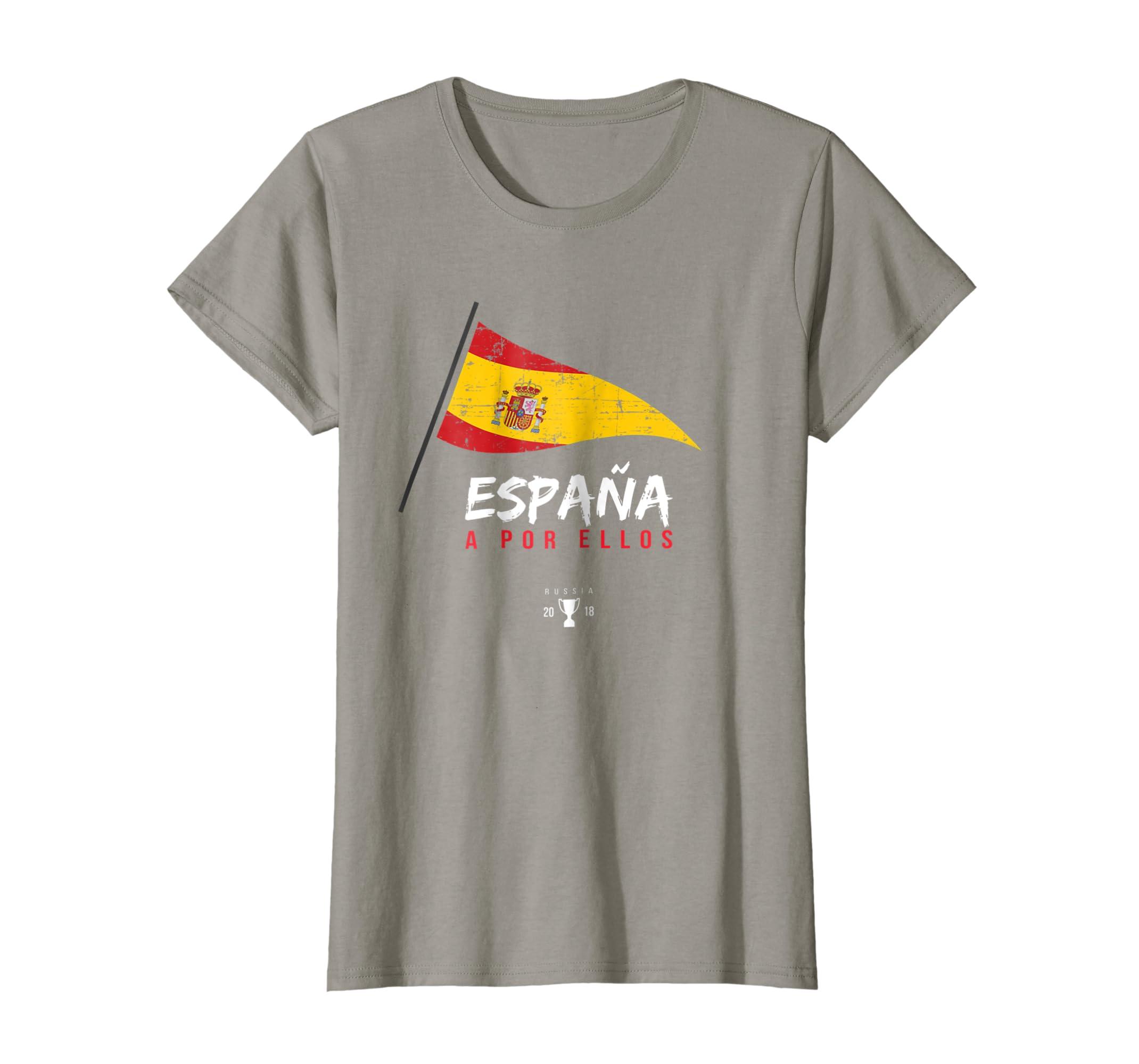 9c1ec18c8d2d8f Amazon.com  Spain Soccer Shirt 2018 Football Team Cup  Clothing
