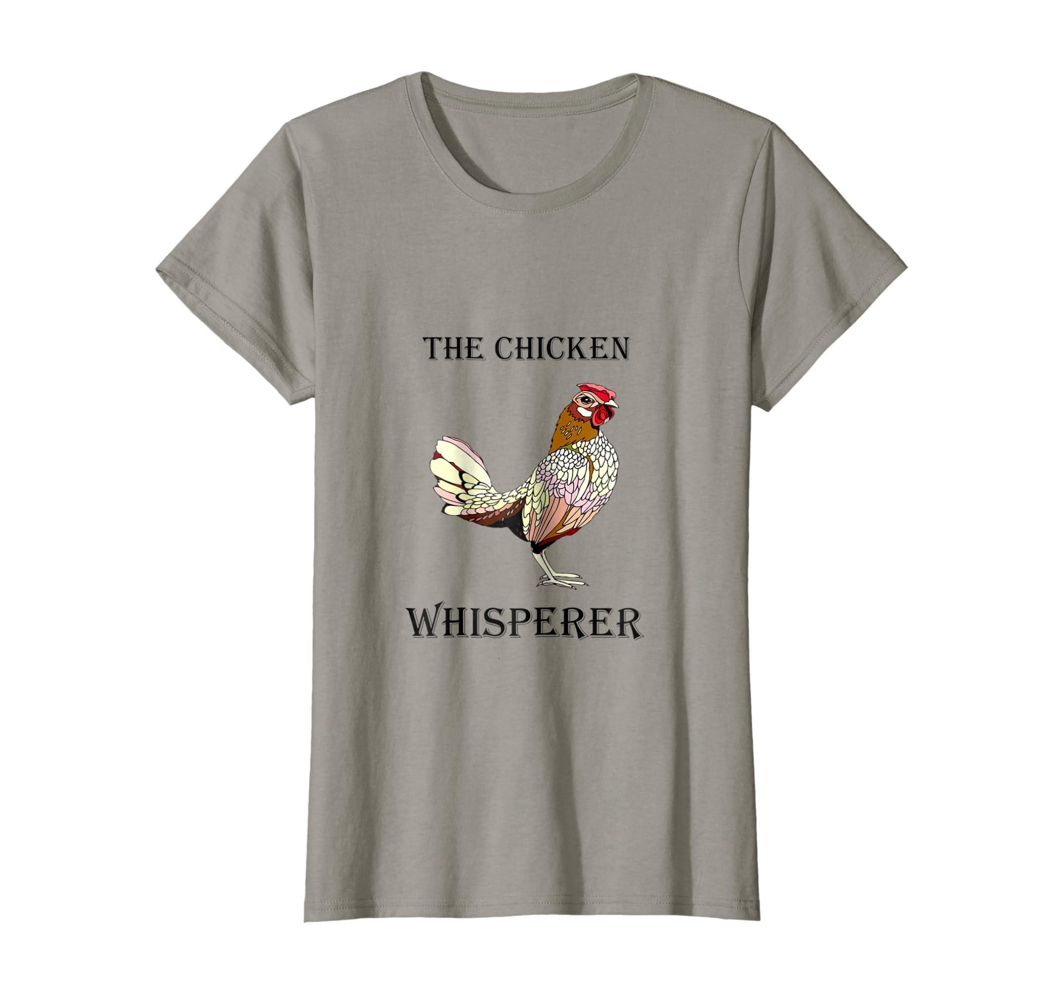 1a89c1523 Amazon.com: The Chicken Whisperer Funny Farmer / Farming T-Shirt: Clothing