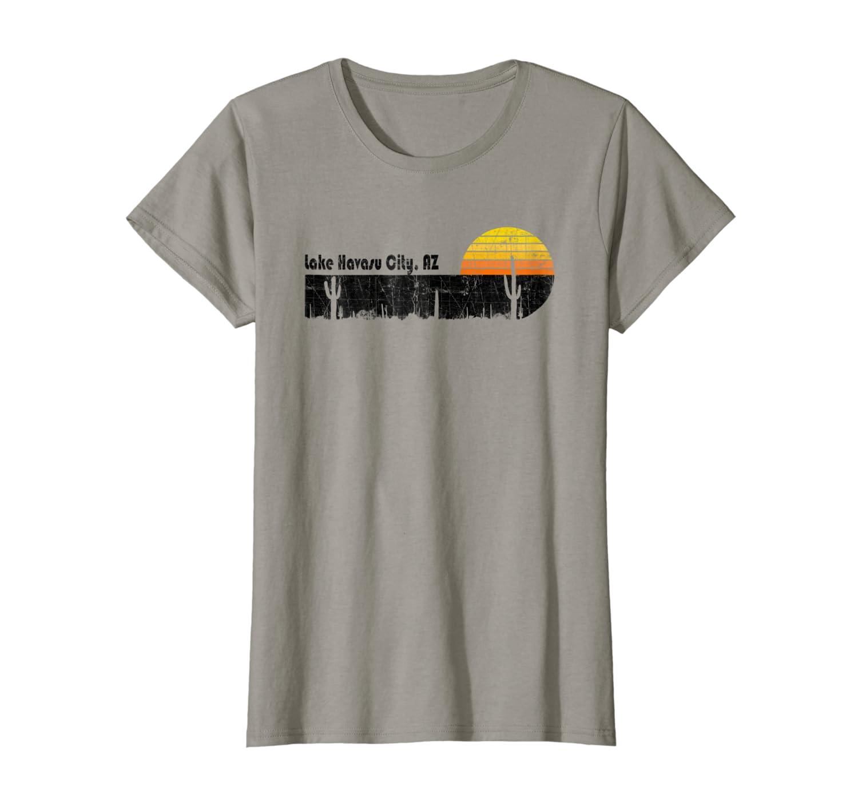 Retro Lake Havasu City Arizona Desert Sunset T-Shirt