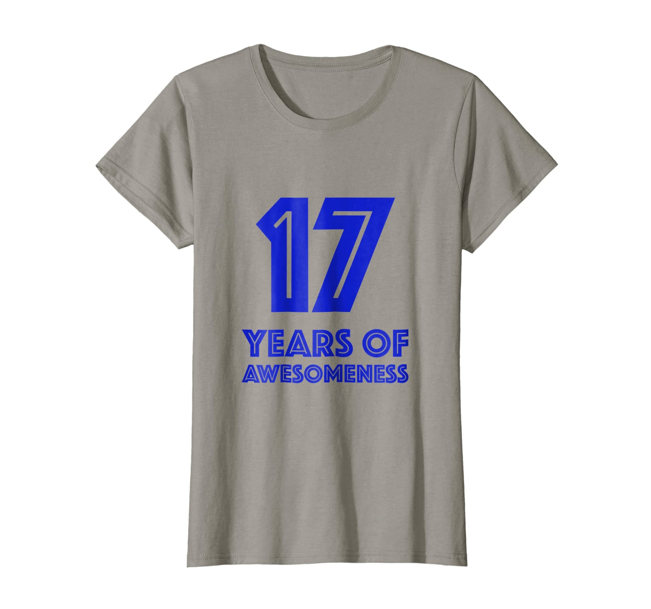 Amazon 17th Birthday Shirt Gift Boys Age 17 Seventeen Year Old Boy Clothing