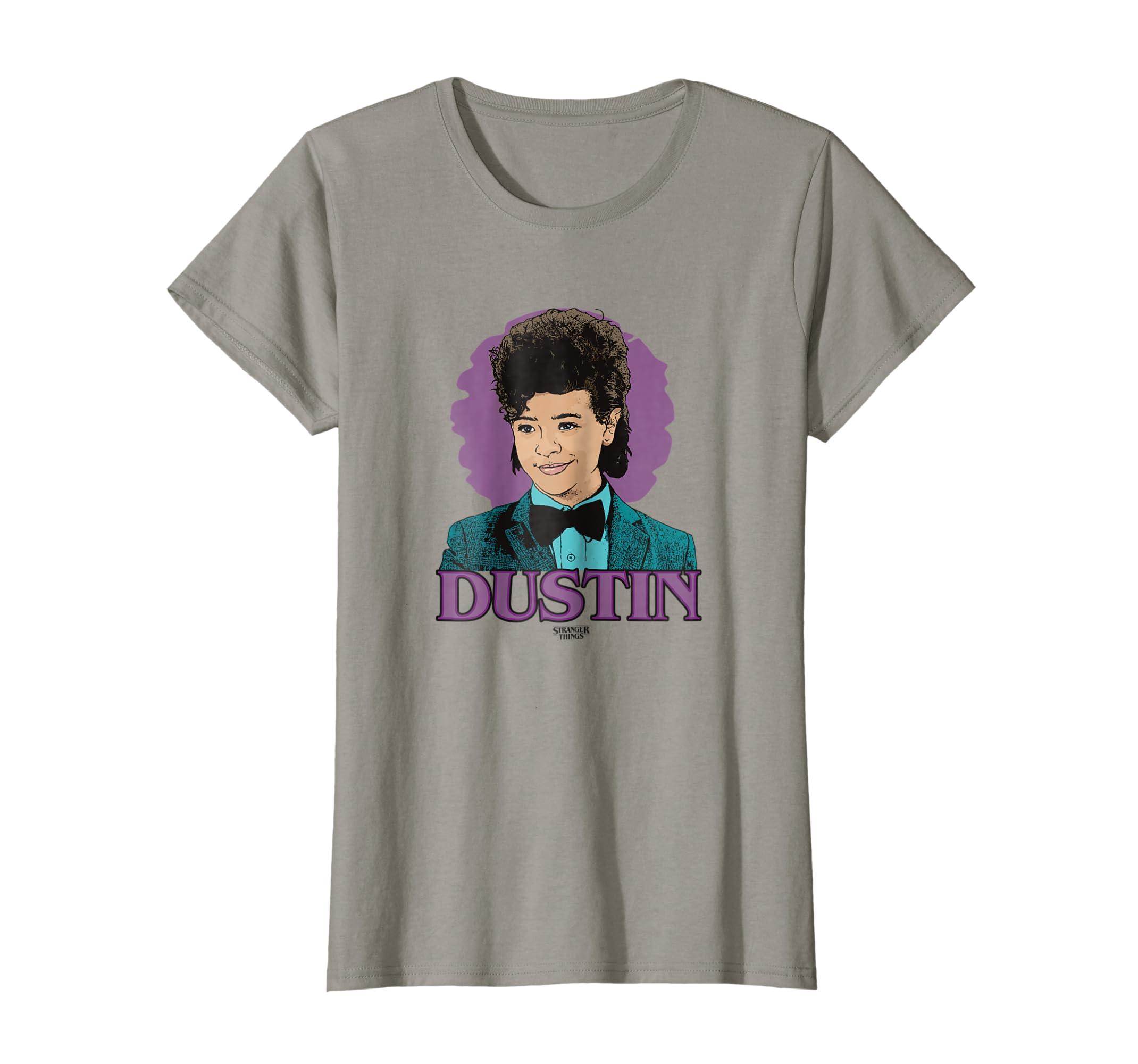 Amazon.com  Netflix Stranger Things Dustin T-shirt  Clothing d06c5c471108b