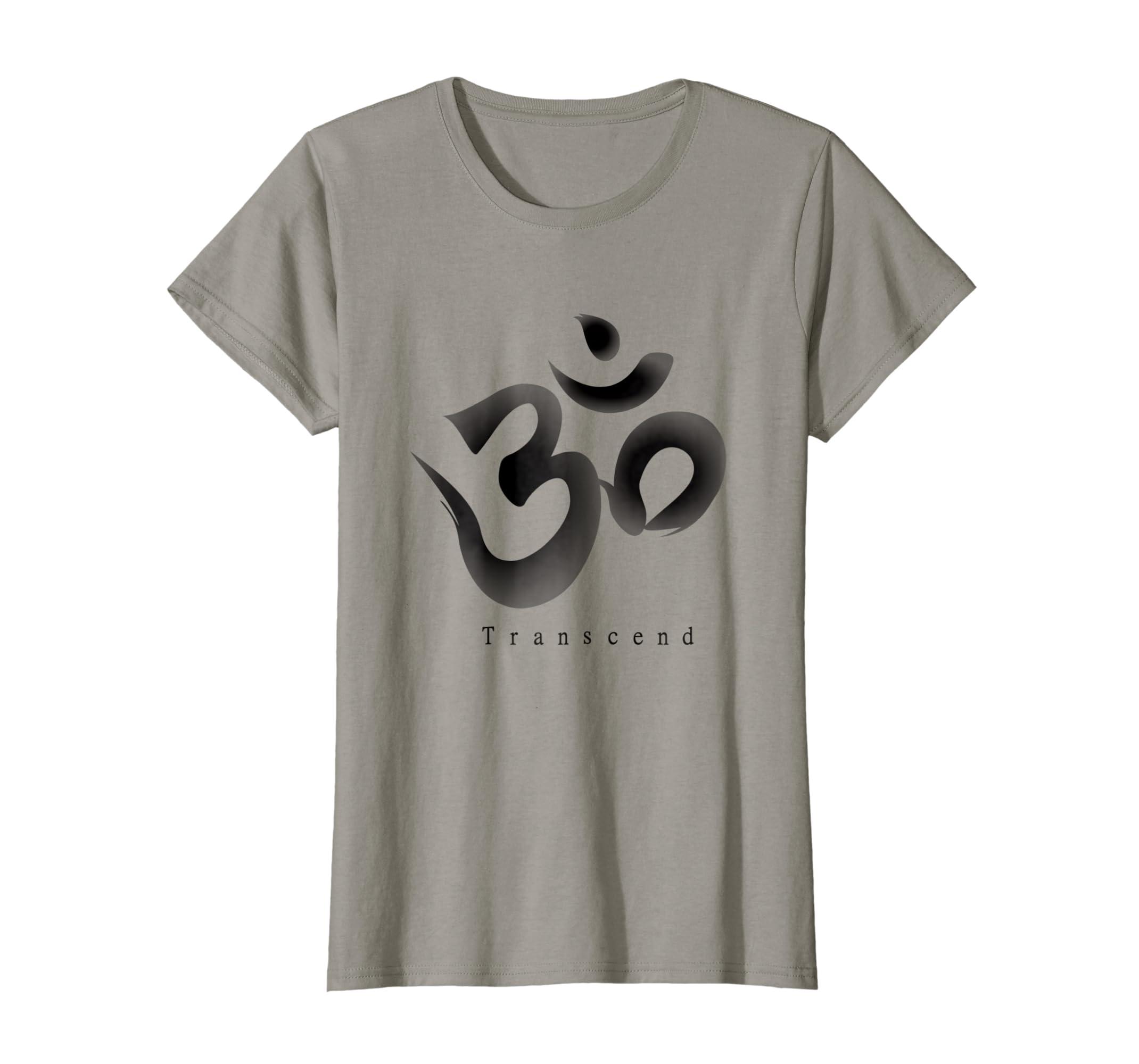 Amazon Om Yoga Zen Symbol Inspirational Transcend T Shirt Clothing
