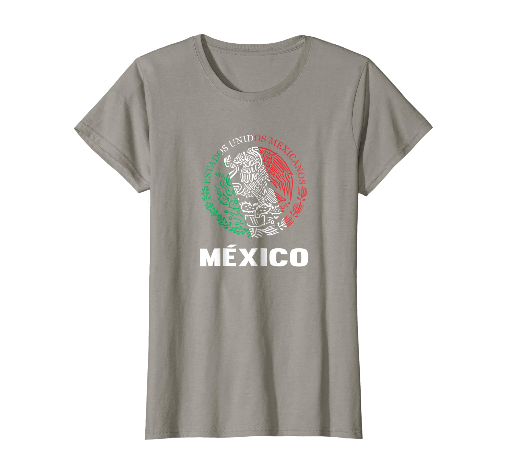 Amazon.com: Mexico Escudo Nacional Tshirt - Orgullo y Raices Mexicanas: Clothing
