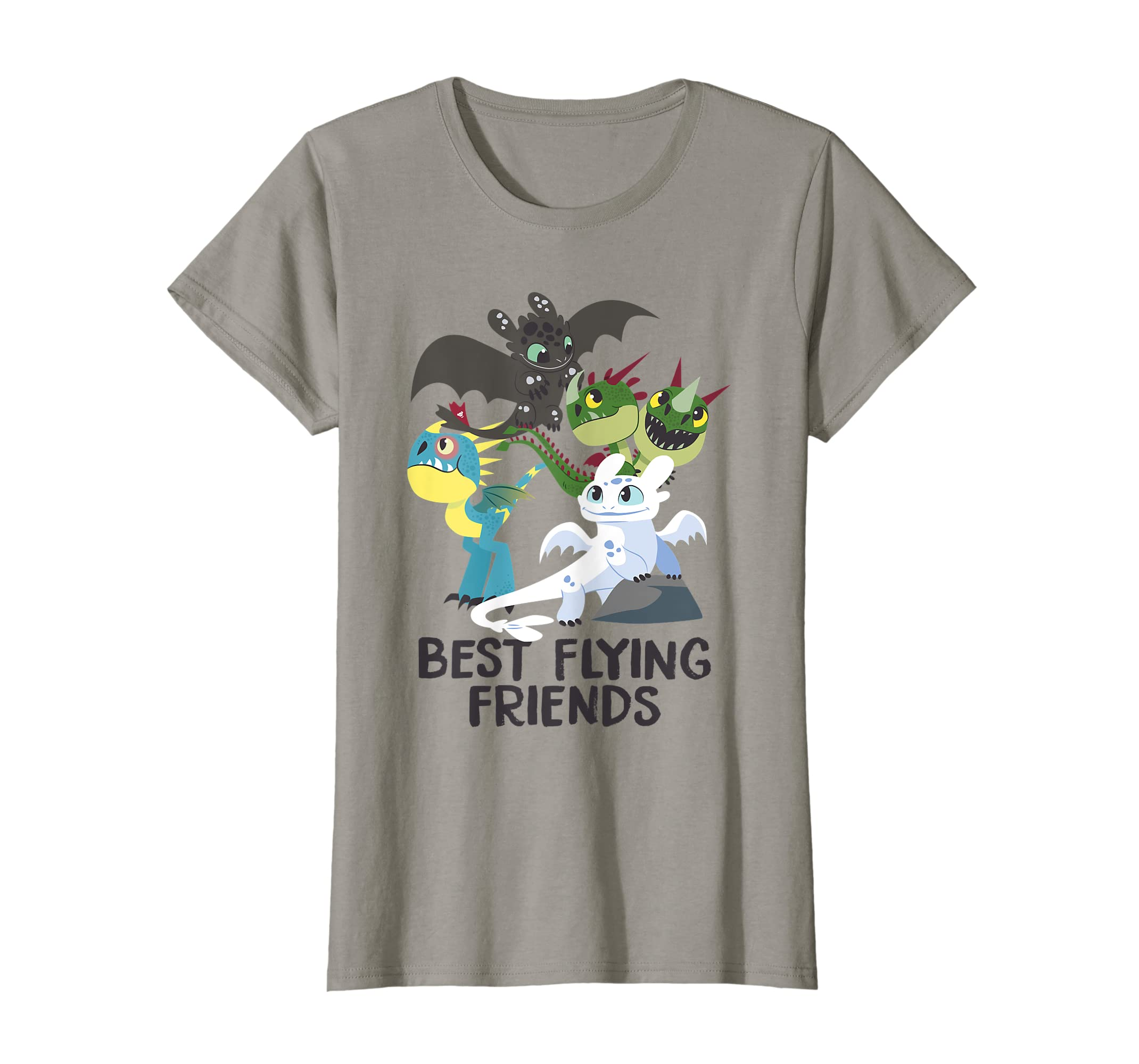 cb9611b3 Amazon.com: DreamWorks How To Train Your Dragon 3 Best Friends T-shirt:  Clothing