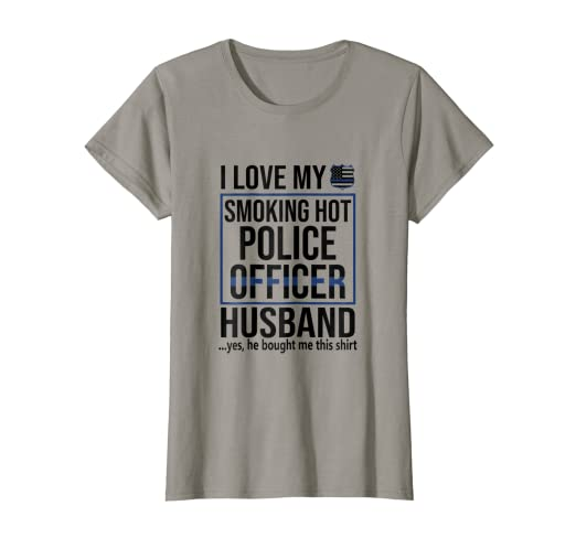 Image Unavailable. Image not available for. Color  Womens Police officer s Wife  Valentines day Gift ... 7ba5c16903