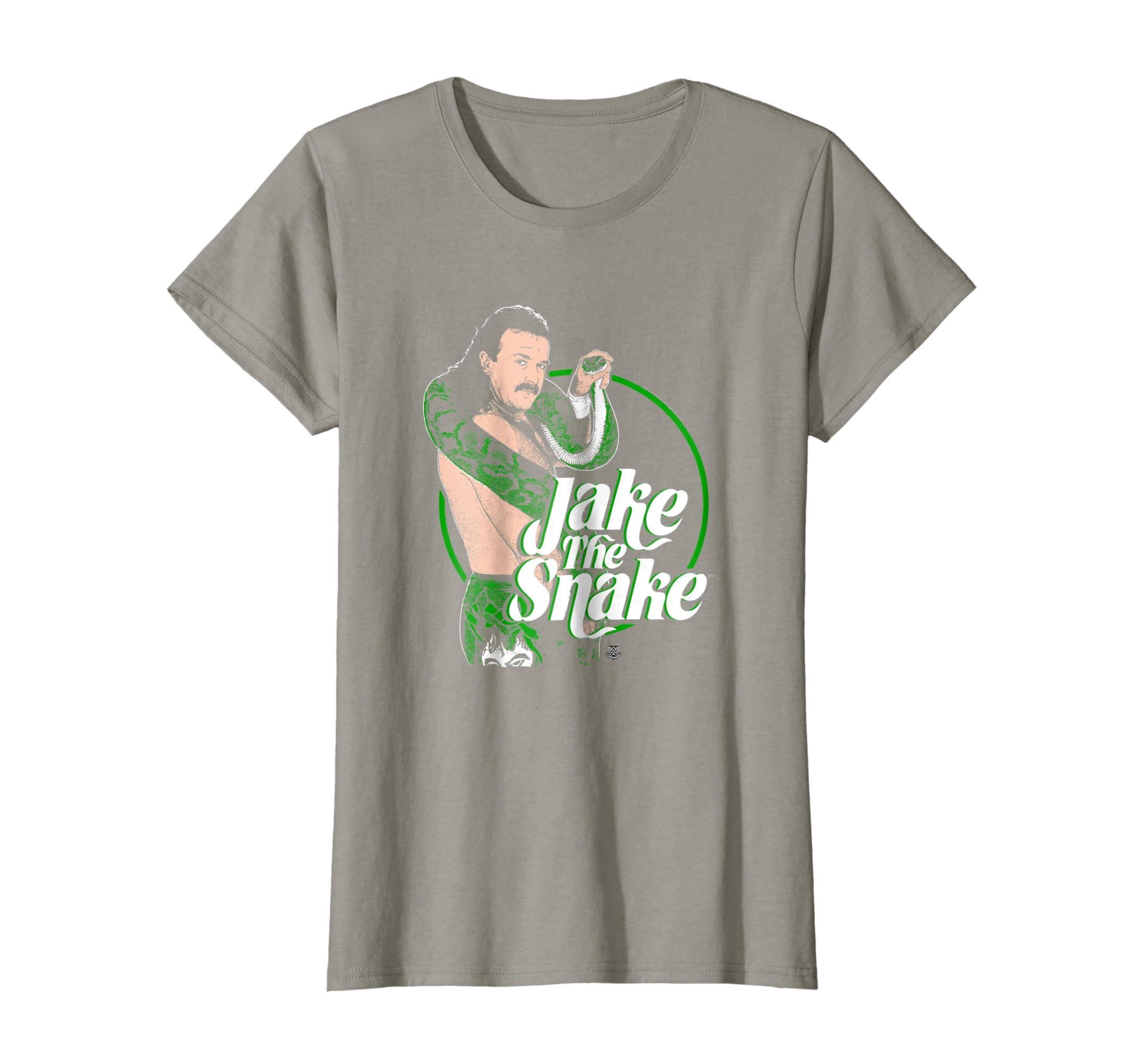 Amazon.com  WWE Jake The Snake Roberts with Logo T-shirt  Clothing 3ae895312