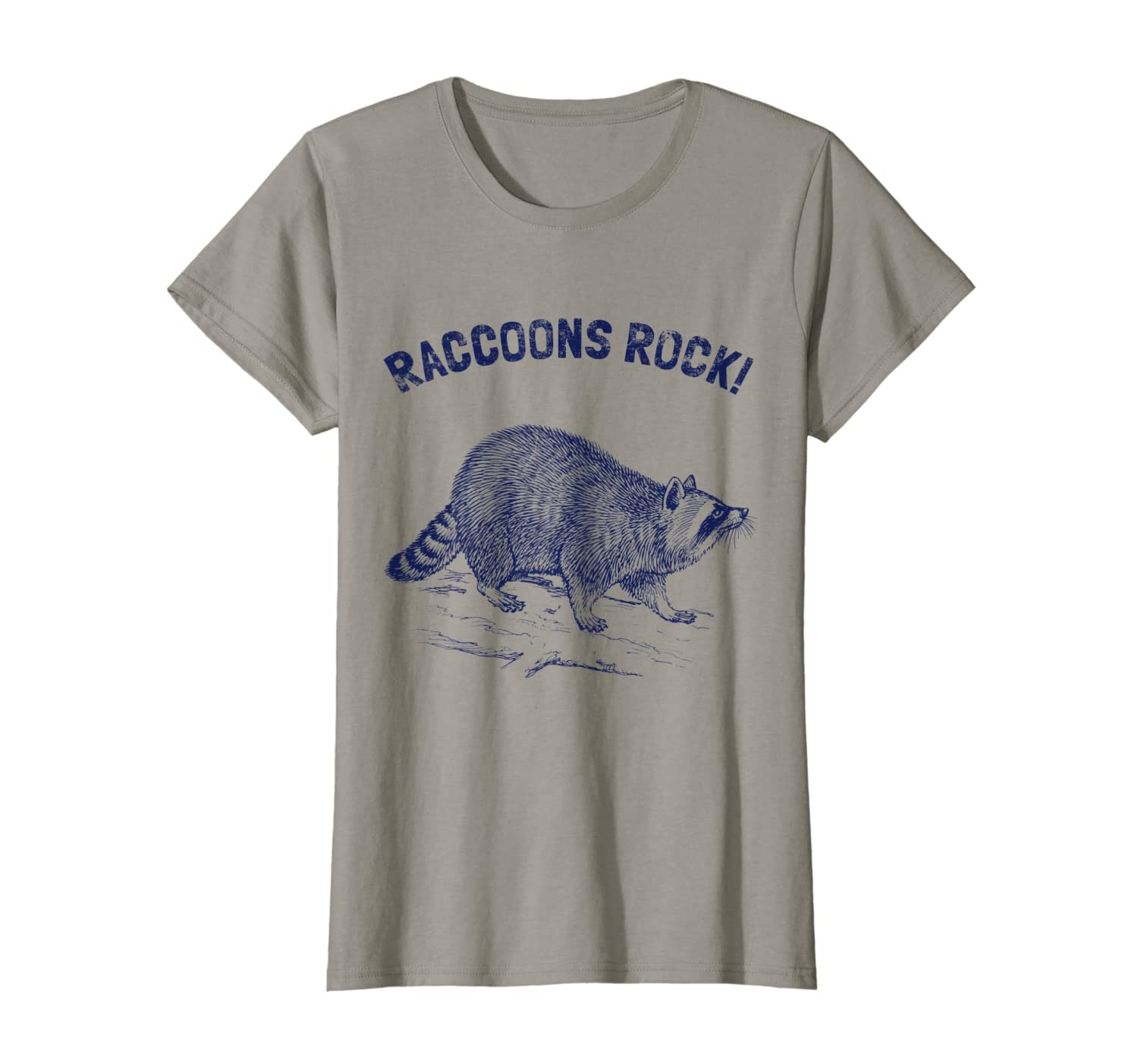 dc1e36fdc0 Raccoon T-Shirt. Cool Nature Raccoon Tee
