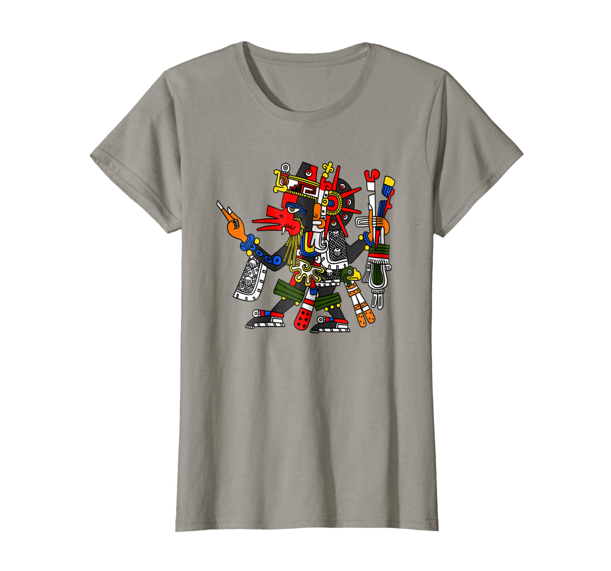 02662c88139195 Amazon.com  Quetzalcoatl T-Shirt Aztec God Deity Feathered Serpent Tee   Clothing