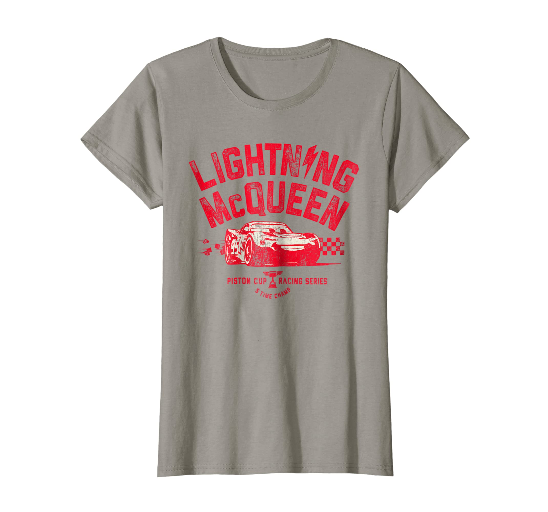 Amazon.com  Disney Pixar Cars 3 Lightning McQueen Racing Graphic T-Shirt   Clothing 6f92c8557