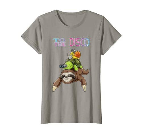 Amazon.com: to the disco Funny sloth turtle snail best ...