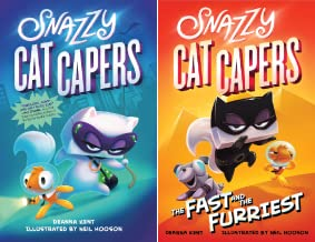 Snazzy Cat Capers (2 Book Series)