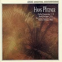 Pfitzner: Cello Concertos Nos. 1-3