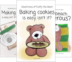 Adventures of Fluffy (the Bear) (4 Book Series)