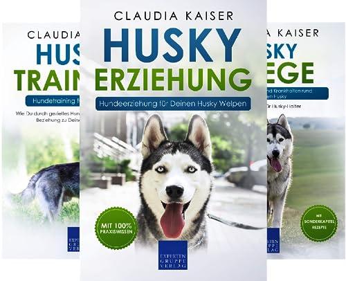 Husky Erziehung (Reihe in 3 Bänden)