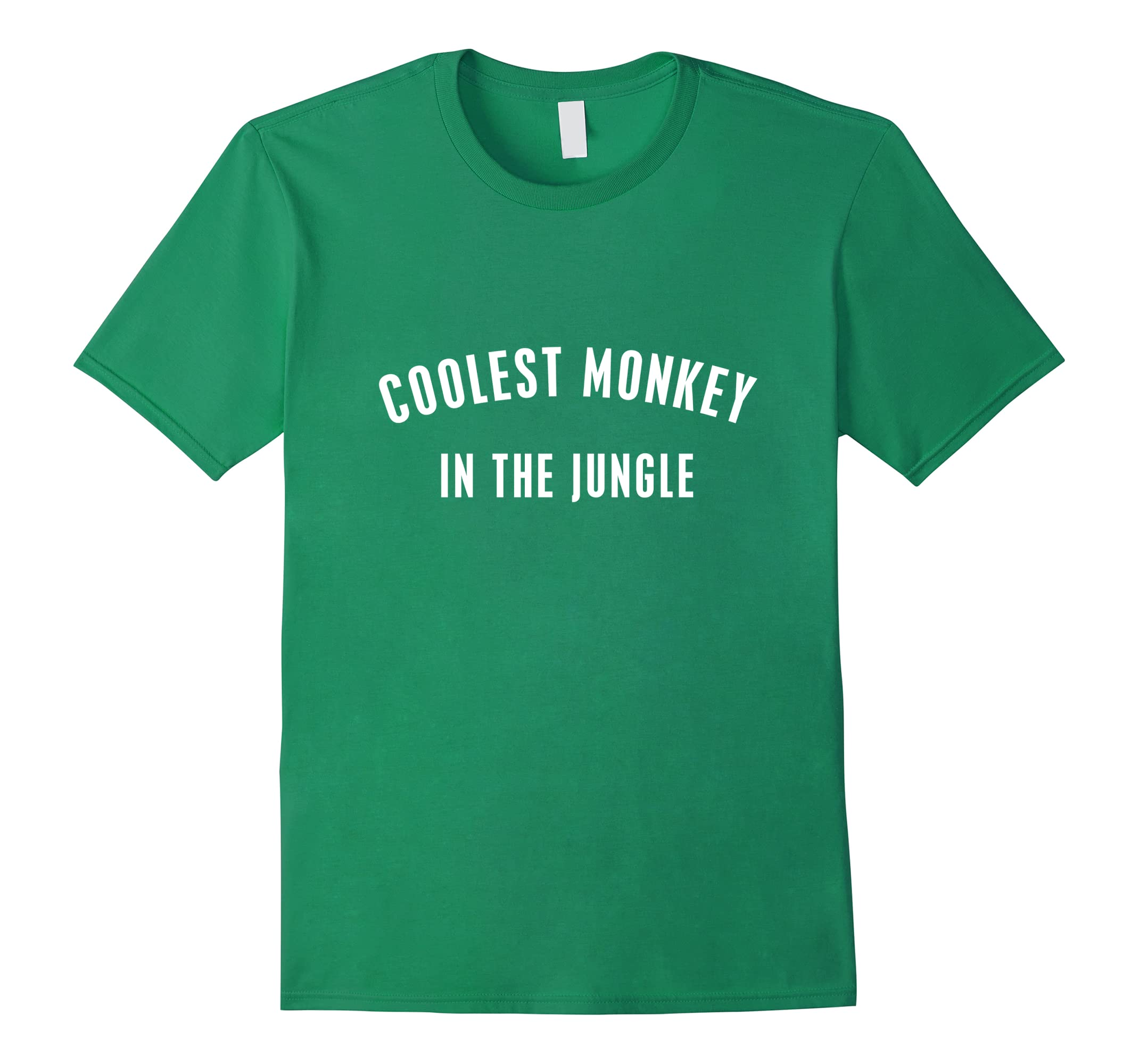 Coolest Monkey in the Jungle HM Green T Shirt 2018-RT