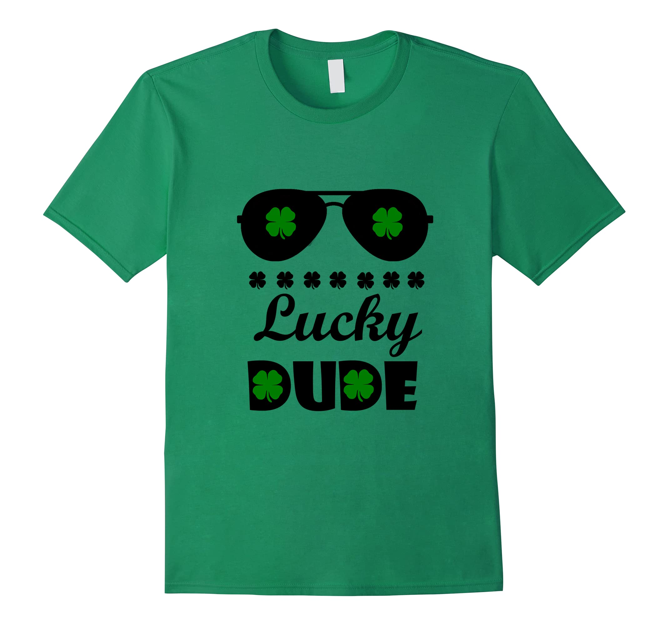 Irish Lucky Dude Patricks T shirt-Teesml