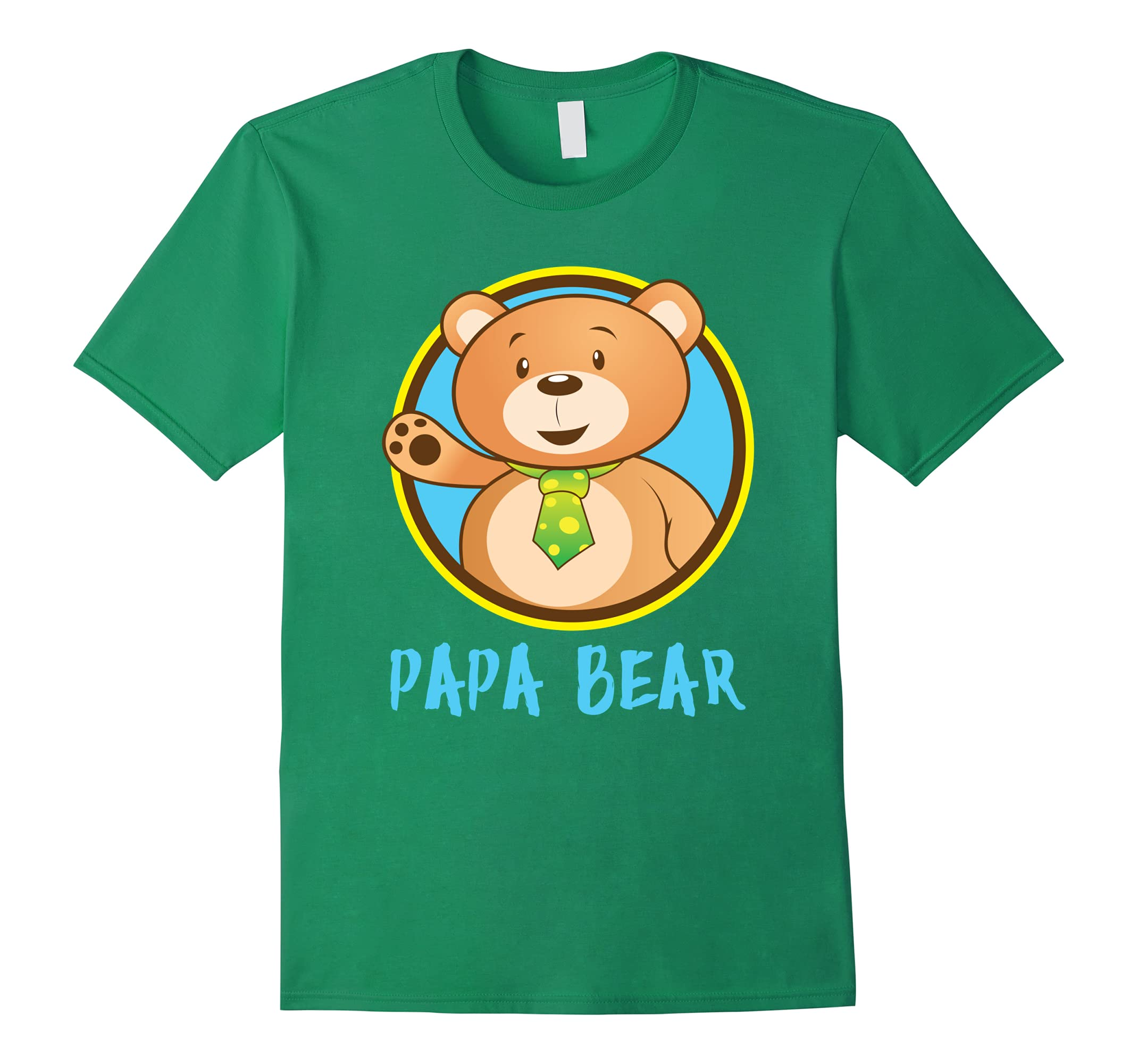 'Papa Bear Matching Shirt' Cute Papa Bear Couple Shirt-RT