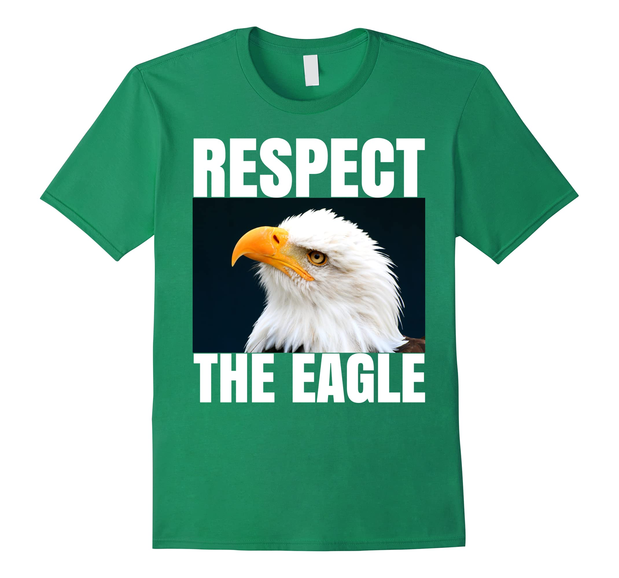 Respect the Eagle Bird Tee Shirt, Photo TShirt-ah my shirt one gift
